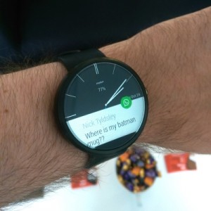 Moto 360 Smartwatch - Technology Predictions for 2015