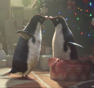 Monty The Penguin Love Scene