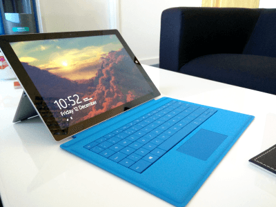 Surface Pro 3 Impressions - Full Profile Shot