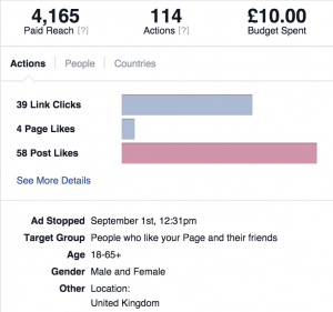 Increase Your Followers - Facebook Stats