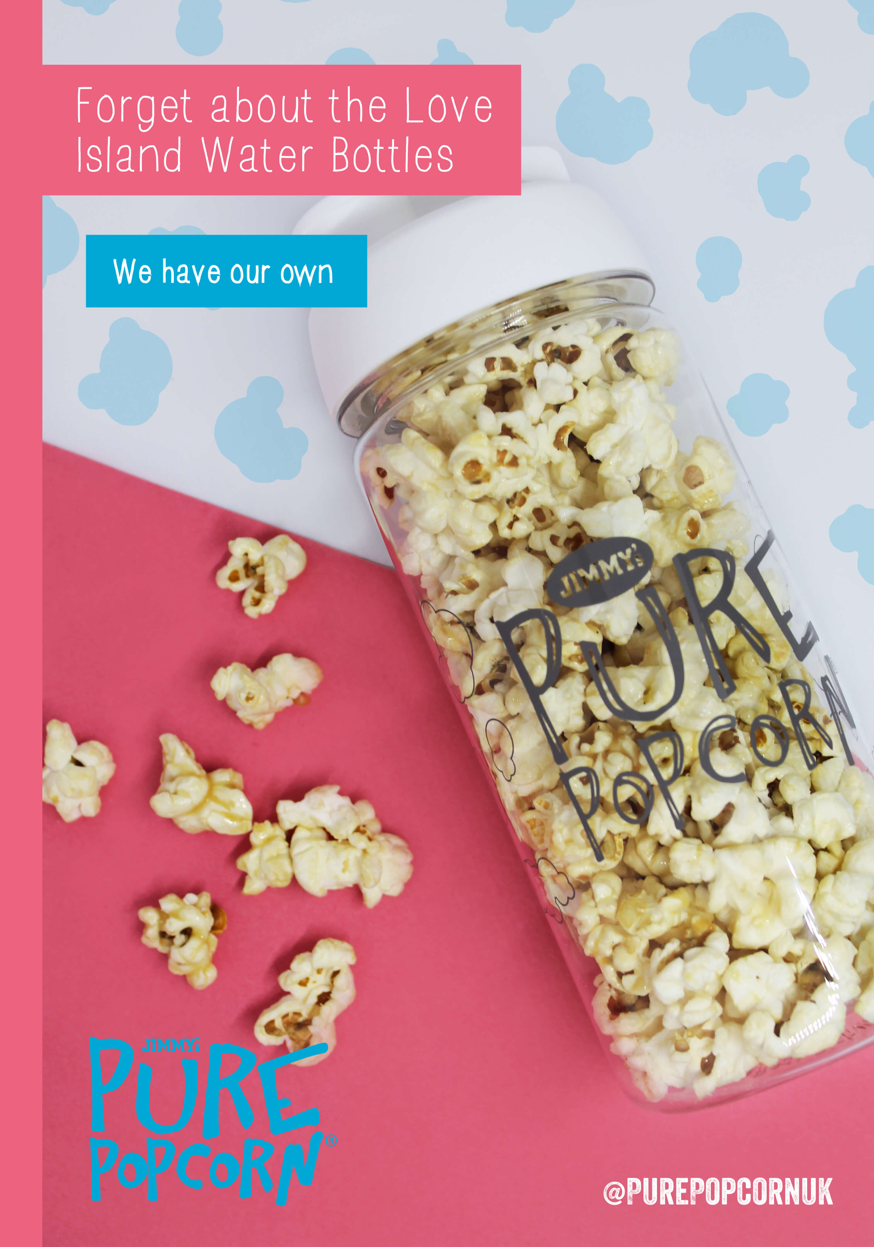 Increase Social Media Followers - Pure Popcorn Competition