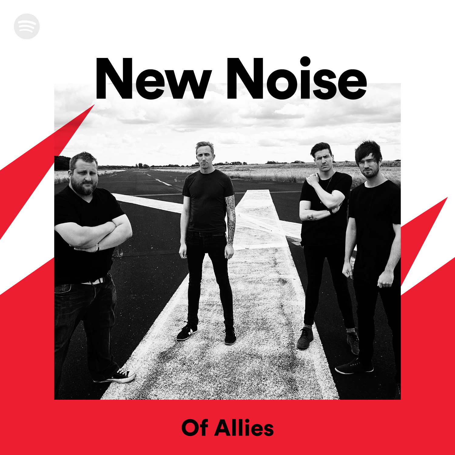 Social Media - Of Allies Spotify Post